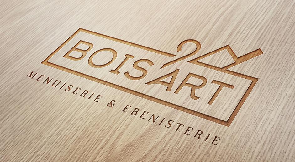 logo bois art